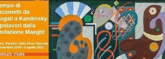 """""""Kainós MMagazine® Mostra Il tempo di Giacometti da Chagall a Kandinsky"""""""
