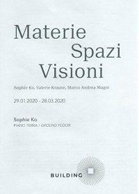 """""""Kainós Magazine® Materie Spazi Visioni recensione mostra Milano"""""""