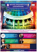 """Kainós® Magazine recensione Serate Organistiche Leonaridiane 2021 Imperia"""