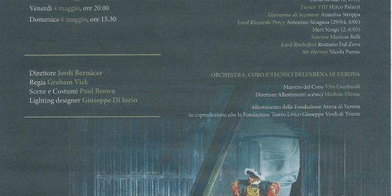 """Kainós Magazine® Anna Bolena al Teatro Filarmonico di Verona"""