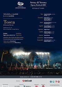 """""""Kainós Magazine: VERONA OPERA FESTIVAL 2019: TOSCA recensione alla prima all'Arena di Verona"""""""