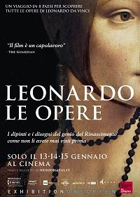 """Kainós Magazine® Leonardo Le opere al cinema"""